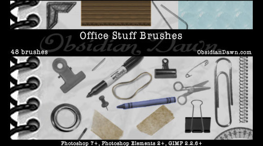 50 Useful Paper Photoshop Brushes For Creative Designs 42