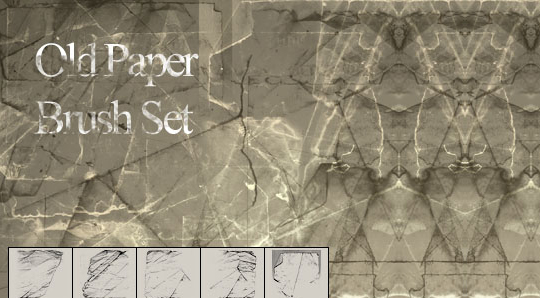 50 Useful Paper Photoshop Brushes For Creative Designs 13