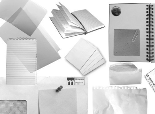 50 Useful Paper Photoshop Brushes For Creative Designs 21