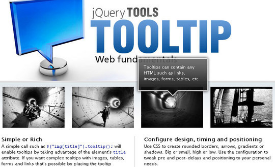jQuery Tooltip
