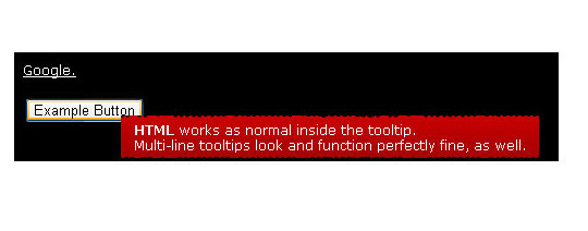 jQuery & CSS Tooltip