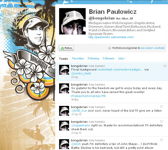 45 Fabulous Examples Of Illustrated Twitter Backgrounds 11