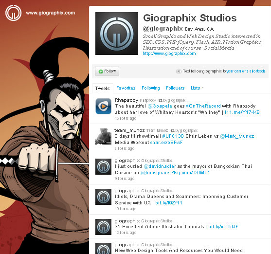 45 Fabulous Examples Of Illustrated Twitter Backgrounds 17