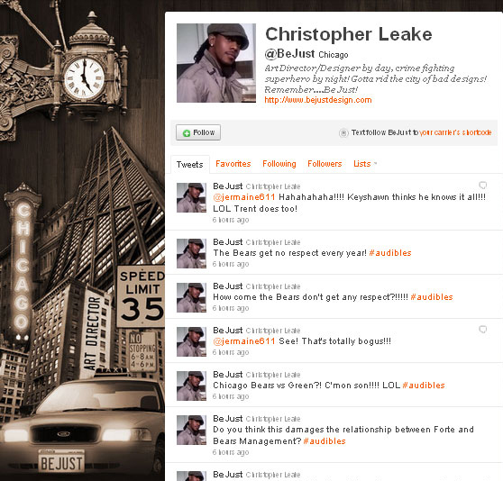 45 Fabulous Examples Of Illustrated Twitter Backgrounds 32
