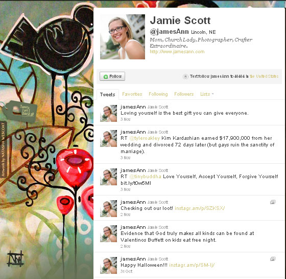 45 Fabulous Examples Of Illustrated Twitter Backgrounds 33
