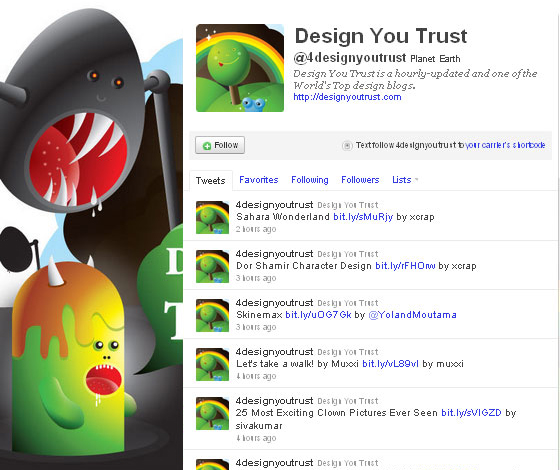45 Fabulous Examples Of Illustrated Twitter Backgrounds 40