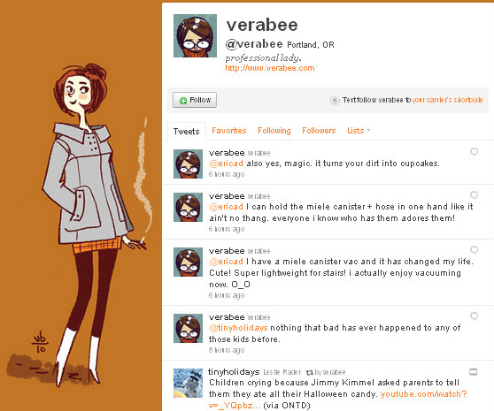 45 Fabulous Examples Of Illustrated Twitter Backgrounds 1