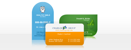 Congratulations To The Winners Of Die-Cut Business Cards From UPrinting 2