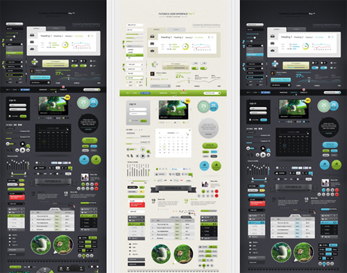 DesignModo's Futurico UI Pro (The World's Biggest User Interface Elements Pack) Giveaway 8
