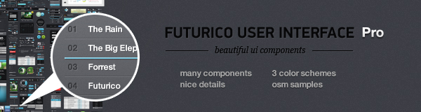 DesignModo's Futurico UI Pro (The World's Biggest User Interface Elements Pack) Giveaway 3