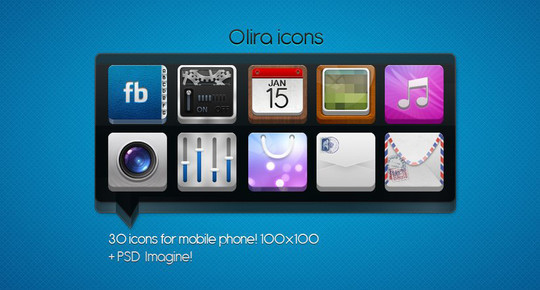 40 Fresh And High Quality Free Icon Sets In PSD Format 40