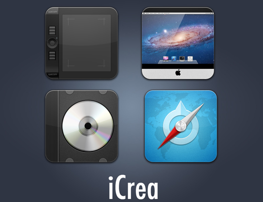 40 Fresh And High Quality Free Icon Sets In PSD Format 5