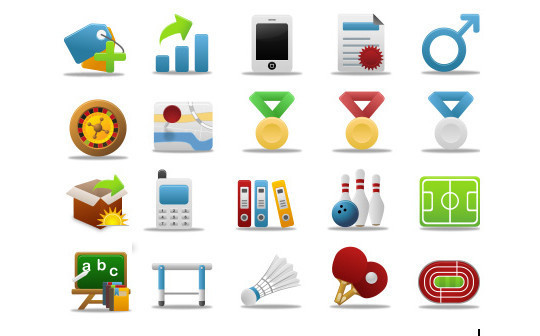 Best Of 2011: Outstanding Collection Of Fresh And Free To Use Icon Sets 23