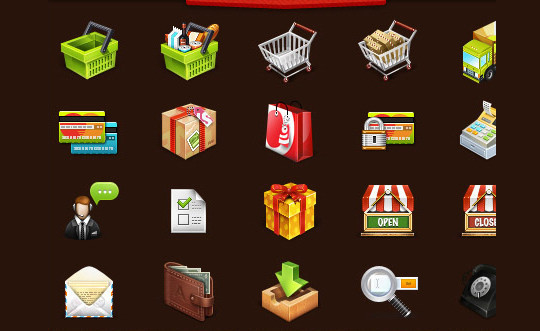 Best Of 2011: Outstanding Collection Of Fresh And Free To Use Icon Sets 26