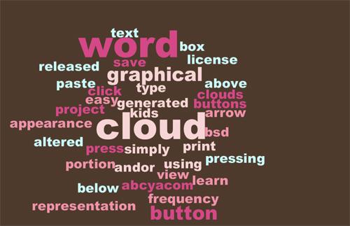 Nine Excellent (Yet Free) Online Word Cloud Generators 4