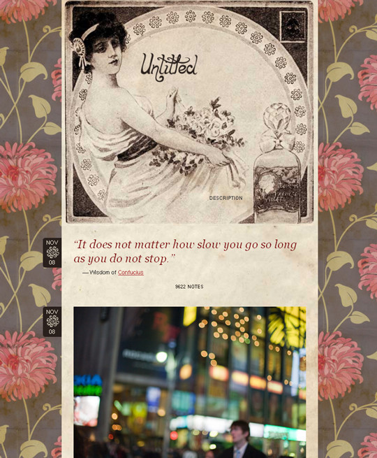 Beautifully Designed Free Tumblr Themes 1