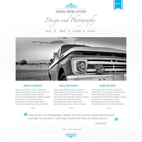 Best Of 2011: 45 Photoshop Web Design Layout Tutorials 16