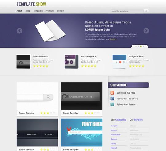 Best Of 2011: 45 Photoshop Web Design Layout Tutorials 28