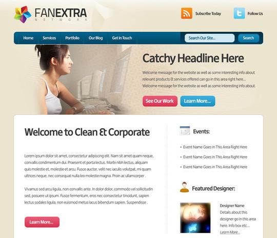 Best Of 2011: 45 Photoshop Web Design Layout Tutorials 29