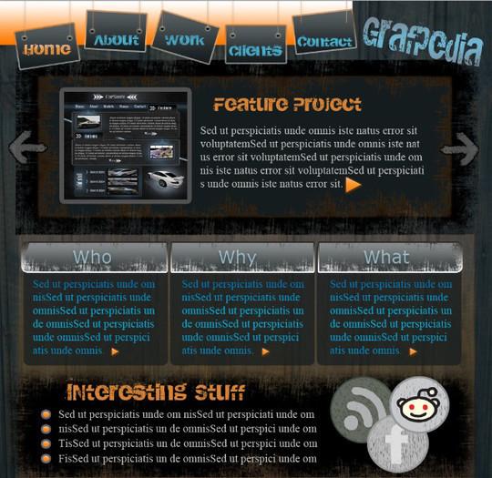 Best Of 2011: 45 Photoshop Web Design Layout Tutorials 13