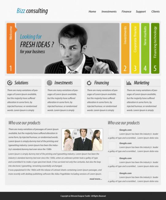 Best Of 2011: 45 Photoshop Web Design Layout Tutorials 19