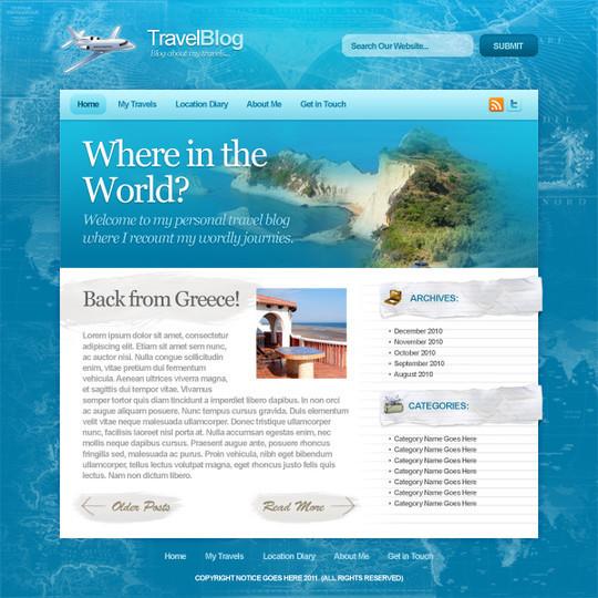 Best Of 2011: 45 Photoshop Web Design Layout Tutorials 35