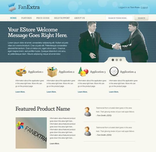 Best Of 2011: 45 Photoshop Web Design Layout Tutorials 37