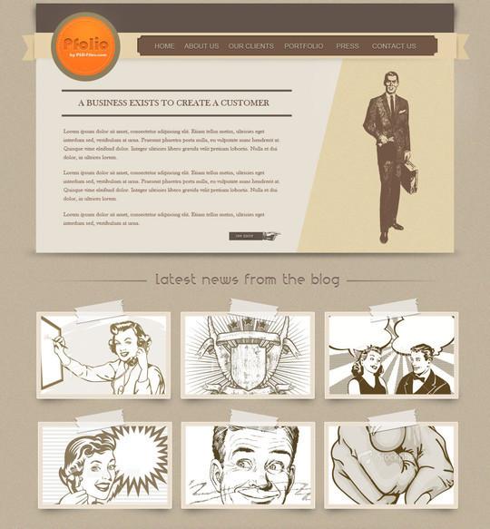 Best Of 2011: 45 Photoshop Web Design Layout Tutorials 39
