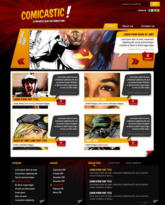 Best Of 2011: 45 Photoshop Web Design Layout Tutorials 6