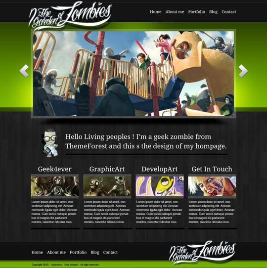 Best Of 2011: 45 Photoshop Web Design Layout Tutorials 42