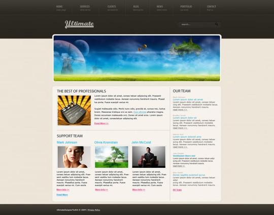Best Of 2011: 45 Photoshop Web Design Layout Tutorials 45