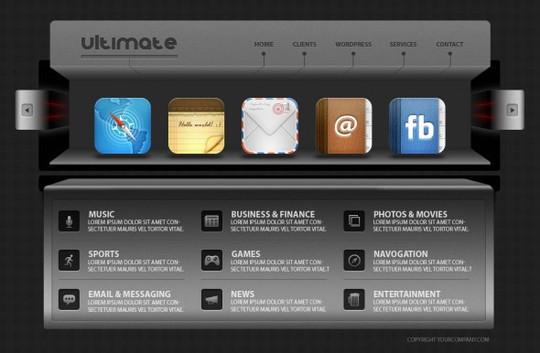 Best Of 2011: 45 Photoshop Web Design Layout Tutorials 2