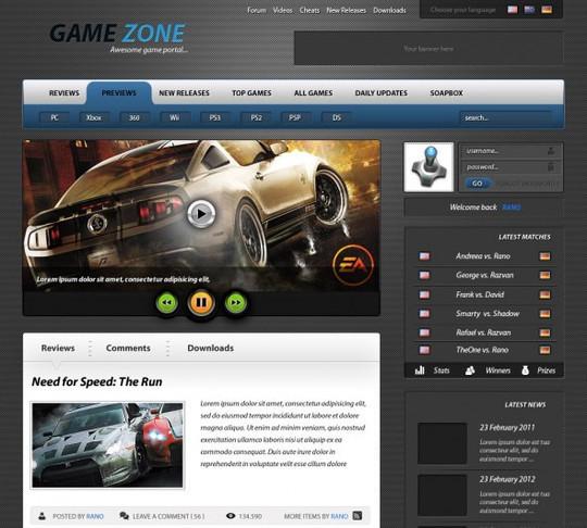 Best Of 2011: 45 Photoshop Web Design Layout Tutorials 8
