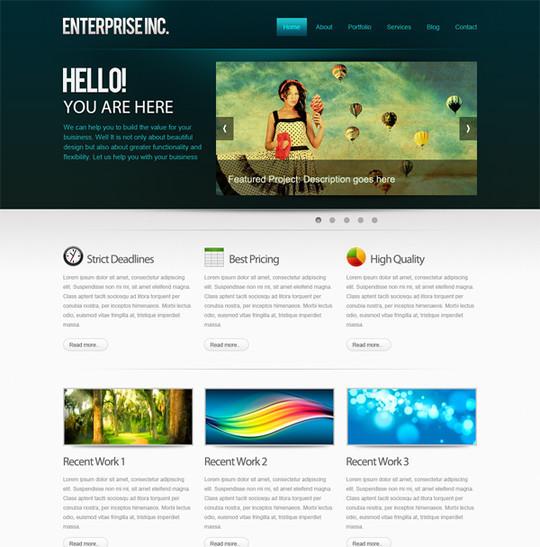 Best Of 2011: 45 Photoshop Web Design Layout Tutorials 21