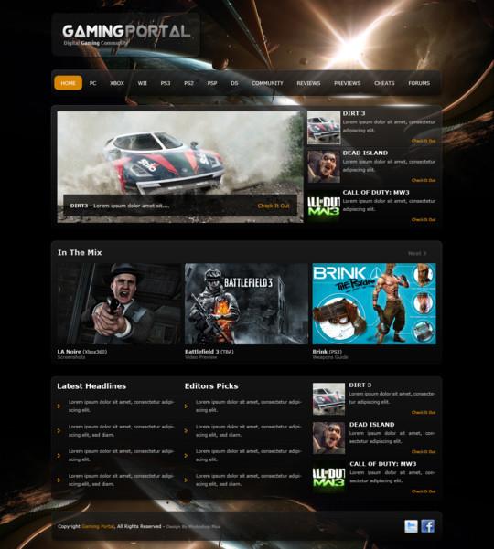 Best Of 2011: 45 Photoshop Web Design Layout Tutorials 23