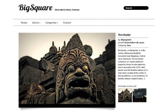Best Of 2011: A Beautiful Collection Of 50 Free WordPress Themes 9