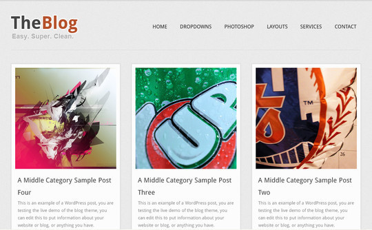 Best Of 2011: A Beautiful Collection Of 50 Free WordPress Themes 32