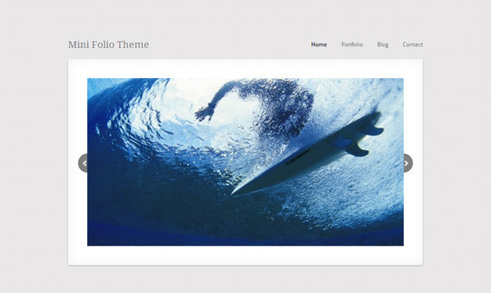 Best Of 2011: A Beautiful Collection Of 50 Free WordPress Themes 36