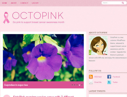 Best Of 2011: A Beautiful Collection Of 50 Free WordPress Themes 42