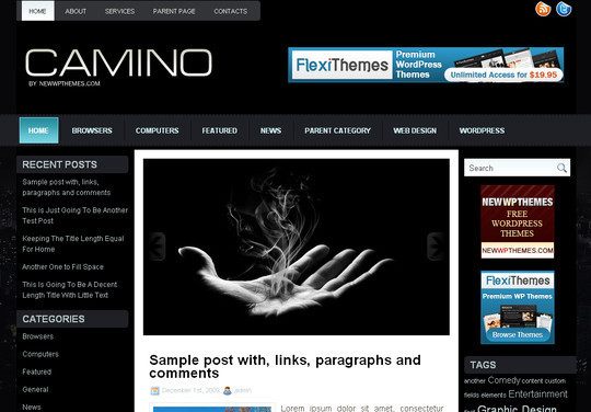 Best Of 2011: A Beautiful Collection Of 50 Free WordPress Themes 51