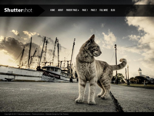 Best Of 2011: A Beautiful Collection Of 50 Free WordPress Themes 20