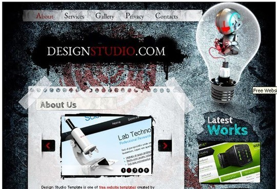 50 Beautiful Yet Free HTML5 And CSS3 Templates 1