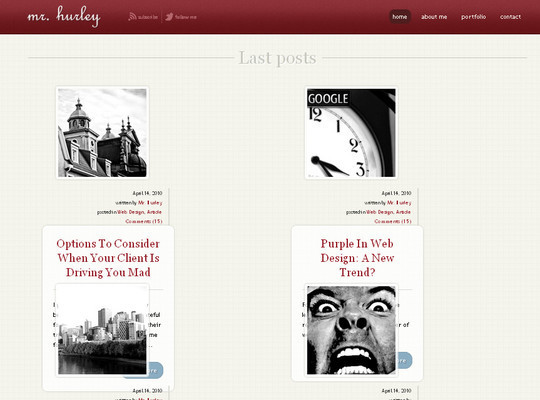 50 Beautiful Yet Free HTML5 And CSS3 Templates 22