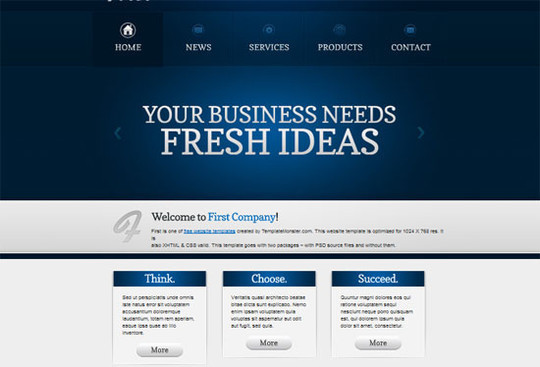 50 Beautiful Yet Free HTML5 And CSS3 Templates 37