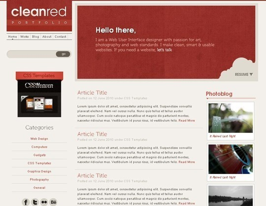 50 Beautiful Yet Free HTML5 And CSS3 Templates 11