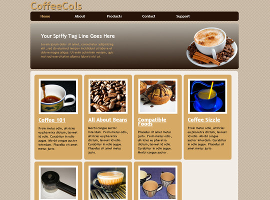 50 Beautiful Yet Free HTML5 And CSS3 Templates 12