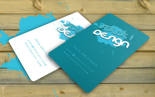 50 Free Photoshop Business Card Templates 15