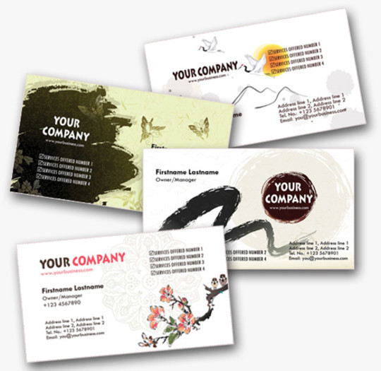 50 Free Photoshop Business Card Templates 17