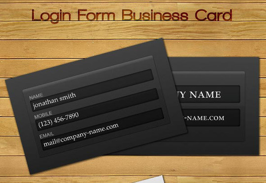 50 Free Photoshop Business Card Templates 19