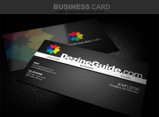 50 Free Photoshop Business Card Templates 3